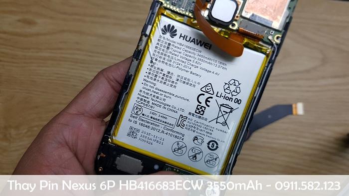 Thay Pin Điện Thoại Google Pixel 4 XL HB416683ECW 3550mAh