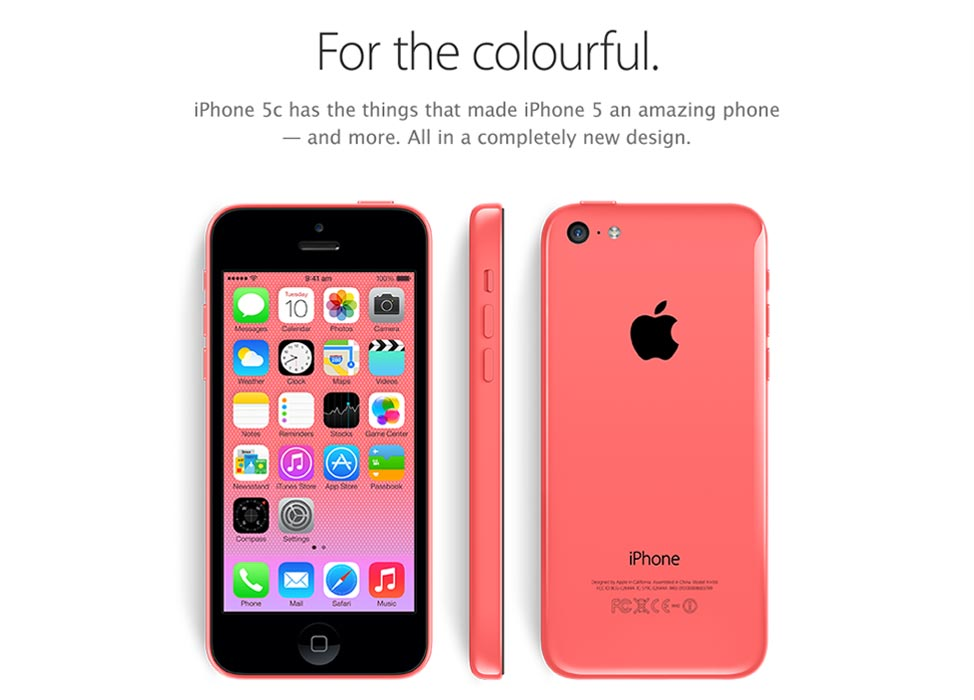 iphone 5c mau do