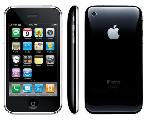 iphone 3gs mau den