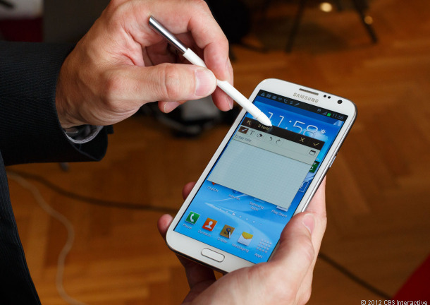 cau hinh Samsung Galaxy Note II 32Gb
