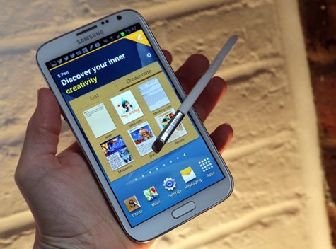 man hinh Samsung Galaxy Note II 32Gb