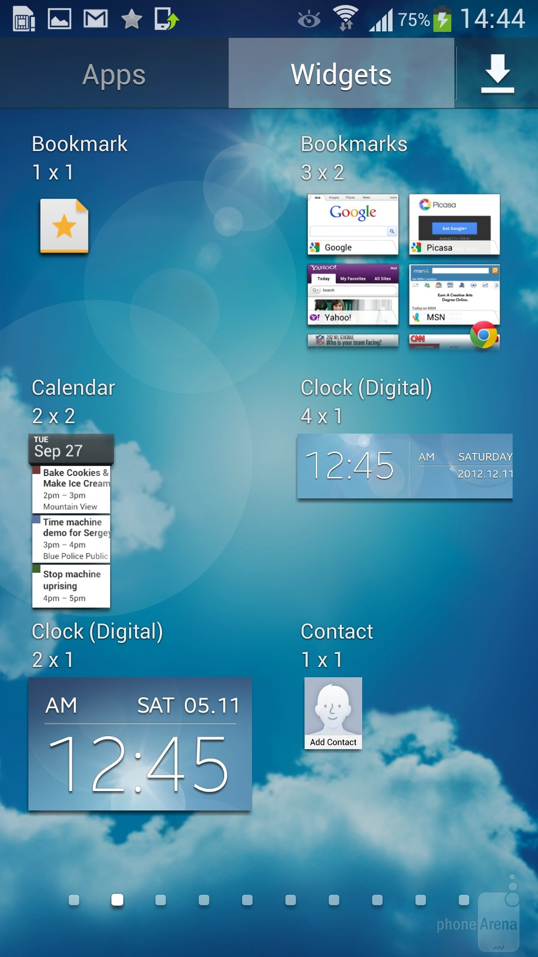 giao dien Galaxy S4 LTE-A