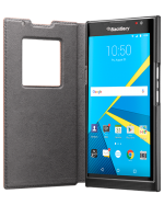 Bao da BlackBerry Priv Leather Flip Case
