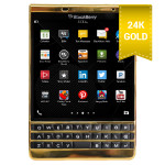 BlackBerry Passport Silver Gold 24K