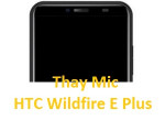 Mic HTC Wildfire E Plus